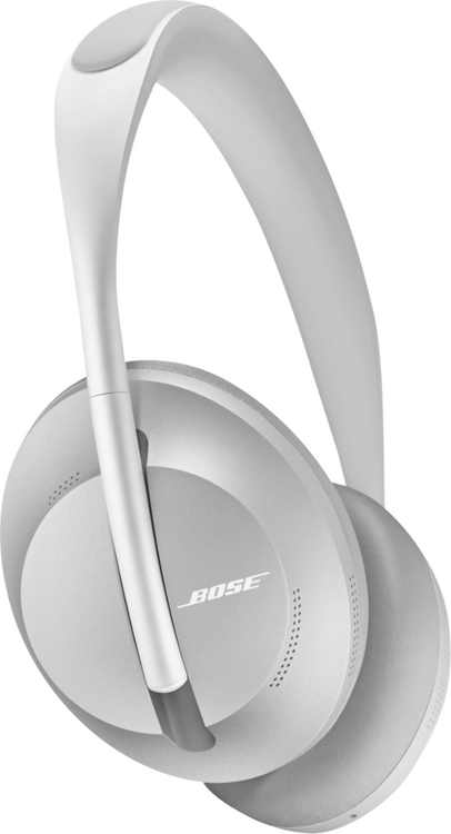 Bose - Headphones 700 Wireless Noise Cancelling Over-the-Ear Headphones - Luxe Silver