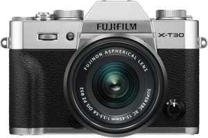 Fujifilm - X Series X-T30 Mirrorless Camera with 15-45mm Lens - Silver