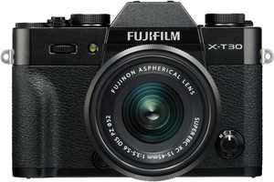 Fujifilm - X Series X-T30 Mirrorless Camera with 15-45mm Lens - Black