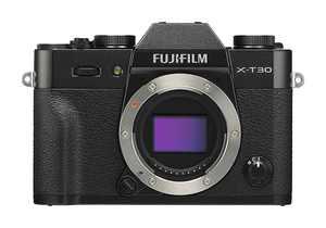 Fujifilm - X Series X-T30 Mirrorless Camera (Body Only) - Black