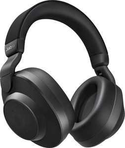 Jabra - Elite 85h Wireless Noise Cancelling Over-the-Ear Headphones - Black