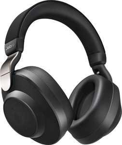 Jabra - Elite 85h Wireless Noise Cancelling Over-the-Ear Headphones - Titanium Black