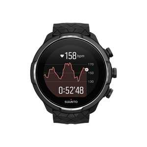 SUUNTO - 9 Titanium Outdoor/Sports Adventure Tracking Connected Watch with GPS/HR - Black