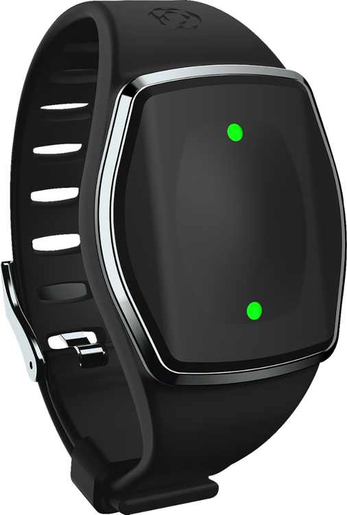 GreatCall - Lively Wearable2 Mobile Medical Alert Plus Step Tracker - Black