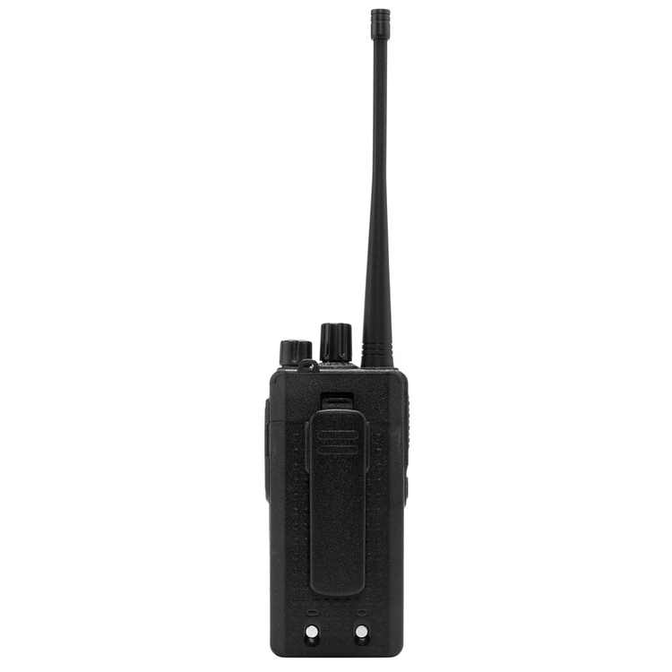 LEADZM LE-C2 Single USB Cable Chargeable Handheld Walkie Talkie with 2800mAh Battery & Charger & Earphone