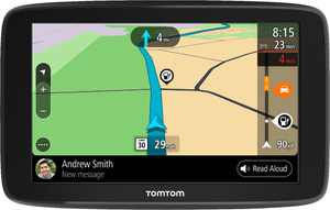 """TomTom - GO COMFORT 6"""" GPS with Built-In Bluetooth, Lifetime Map Updates and Lifetime Traffic Updates - Black"""