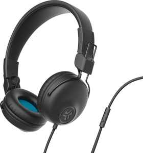 JLab - Studio Wired On-Ear Headphones - Black
