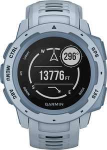 Garmin - Instinct Smartwatch Fiber-Reinforced Polymer - Sea Foam with Sea Foam Silicone Band