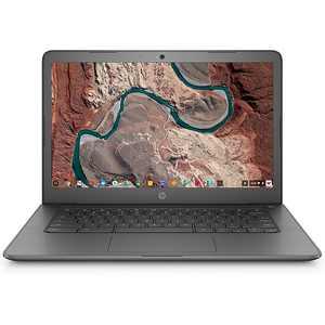 "HP - 14"" Touch-Screen Chromebook - AMD A4-Series - 4GB Memory - AMD Radeon R4 - 32GB eMMC Flash Memory - Chalkboard Gray"