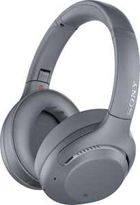 Sony - WH-XB900N Wireless Noise Cancelling Over-the-Ear Headphones - Gray