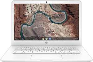 "HP - 14"" Chromebook - AMD A4-Series - 4GB Memory - AMD Radeon R4 - 32GB eMMC Flash Memory - Snow White"