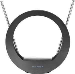 Dynex - Indoor Tabletop HDTV Antenna - Black