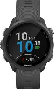 Garmin - Forerunner 245 GPS Heart Rate Monitor Running Smartwatch - Slate