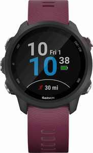 Garmin - Forerunner 245 GPS Heart Rate Monitor Running Smartwatch - Berry