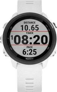 Garmin - Forerunner 245 Music GPS Heart Rate Monitor Running Smartwatch - White