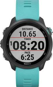 Garmin - Forerunner 245 Music GPS Heart Rate Monitor Running Smartwatch - Aqua