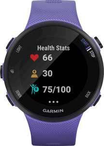 Garmin - Forerunner 45S GPS Heart Rate Monitor Running Smartwatch - Iris
