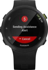 Garmin - Forerunner 45 GPS Heart Rate Monitor Running Smartwatch - Black