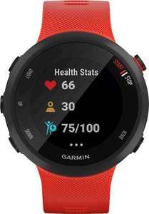 Garmin - Forerunner 45 GPS Heart Rate Monitor Running Smartwatch - Lava Red