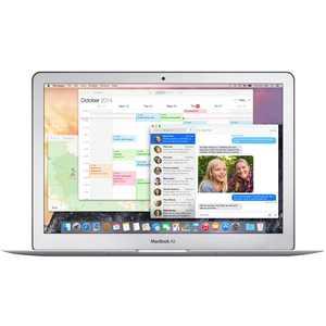 "Apple - MacBook Air 13.3"" Refurbished Laptop - Intel Core i5 - 8GB Memory - 128GB Flash Storage - Silver"