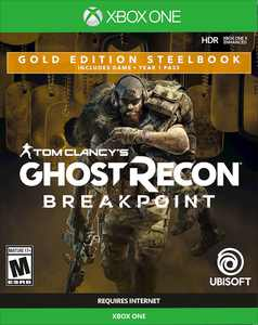 Tom Clancy's Ghost Recon Breakpoint Gold Edition SteelBook - Xbox One