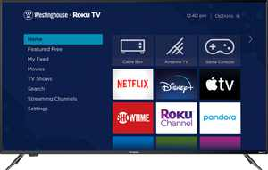 "Westinghouse - 65"" Class LED 4K UHD Smart Roku TV"