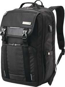 """Samsonite - Carrier Tucker Backpack for 15.6"""" Laptop - Black"""