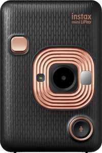 Fujifilm - instax mini LiPlay Instant Film Camera - Elegant Black