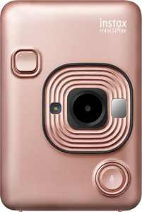 Fujifilm - instax mini LiPlay Instant Film Camera - Blush Gold