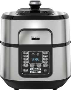 Bella - Pro Series 6.5qt Digital Multi Cooker with Air Fryer - Stainless Steel