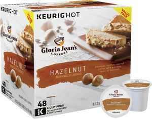 Gloria Jean's - Hazelnut K-Cup Pods (48-Pack)