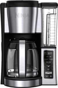 Ninja - Ninja Coffee 12-Cup Programmable Coffee Brewer CE251 - Silver