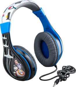 eKids - Star Wars Rise of Skywalker Headphones - Black/Blue