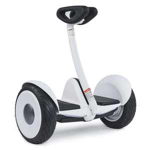 Segway - Ninebot S Self-Balancing Scooter w/13.7 Max Operating Range & 10 mph Max Speed - White