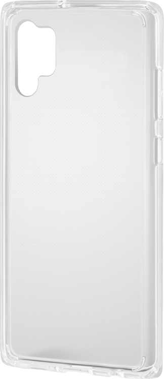Insignia - Hard Shell Case for Samsung Galaxy Note10+ and Note10+ 5G - Clear