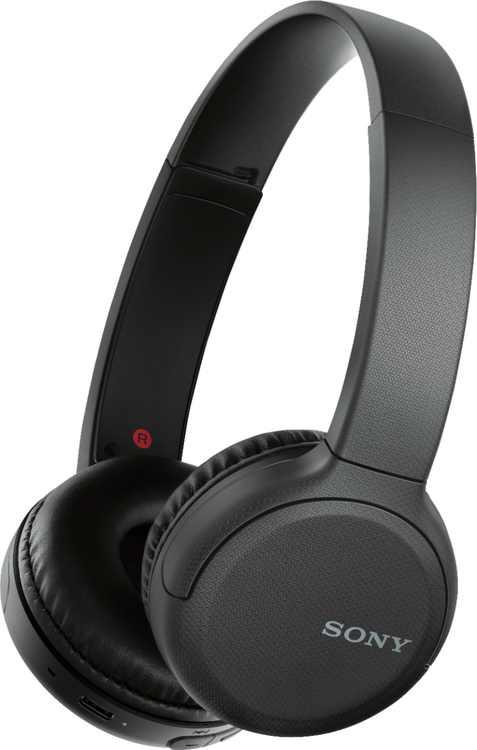 Sony - WH-CH510 Wireless On-Ear Headphones - Black