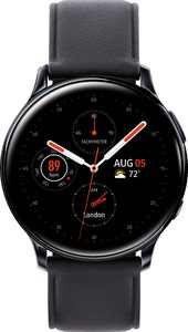 Samsung - Galaxy Watch Active2 Smartwatch 40mm Stainless Steel LTE (Unlocked) - Black