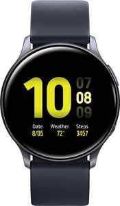 Samsung - Galaxy Watch Active2 Smartwatch 40mm Aluminum - Aqua Black