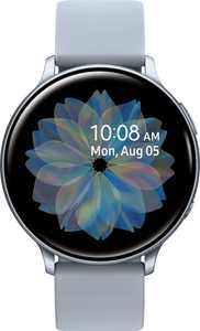 Samsung - Galaxy Watch Active2 Smartwatch 44mm Aluminum - Cloud Silver