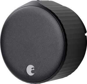 August - Wi-Fi Smart Lock (4th Gen) - Matte Black