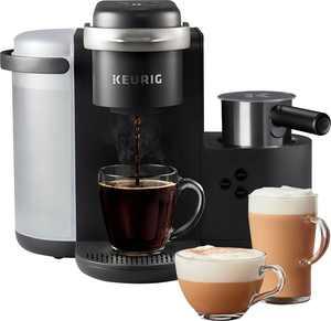 Keurig - K-Cafe Single Serve K-Cup Coffee Maker - Dark Charcoal