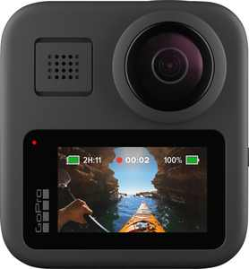 GoPro - MAX 360 Degree 6K Action Camera - Black