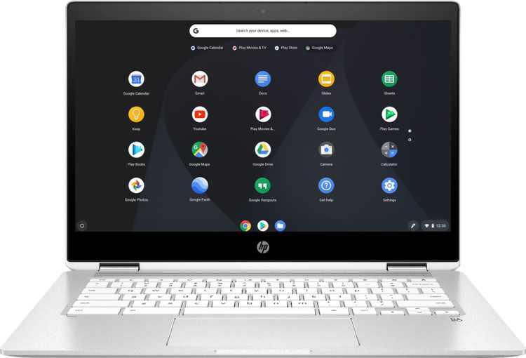 "HP - 2-in-1 14"" Touch-Screen Chromebook - Intel Pentium Silver - 4GB Memory - 64GB eMMC Flash Memory - Ceramic White"