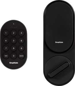 SimpliSafe - Smart Lock + PIN Pad - Black