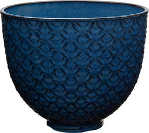 KitchenAid - KitchenAid 5 Quart Blue Mermaid Lace Ceramic Bowl - Blue Mermaid Lace