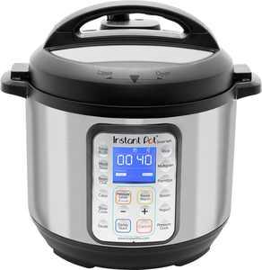 Instant Pot - Smart Wifi 6 Quart Multi-Use Pressure Cooker - Silver