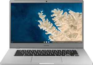 "Samsung - 15.6"" Chromebook - Intel Celeron - 4GB Memory - 32GB eMMC Flash Memory - Platinum Titan"