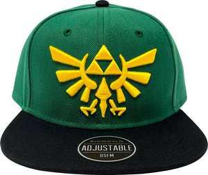 Bioworld - The Legend of Zelda Snap Back Hat - Green/Black