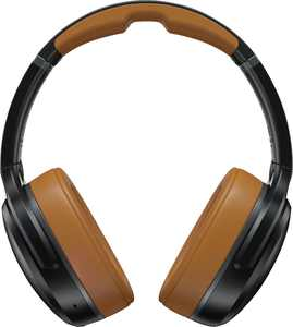 Skullcandy - Crusher ANC Wireless Noise Cancelling Over-the-Ear Headphones - Black/Tan
