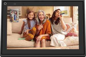 "Facebook - Portal Smart Video Calling 10"" Display with Alexa - Black"